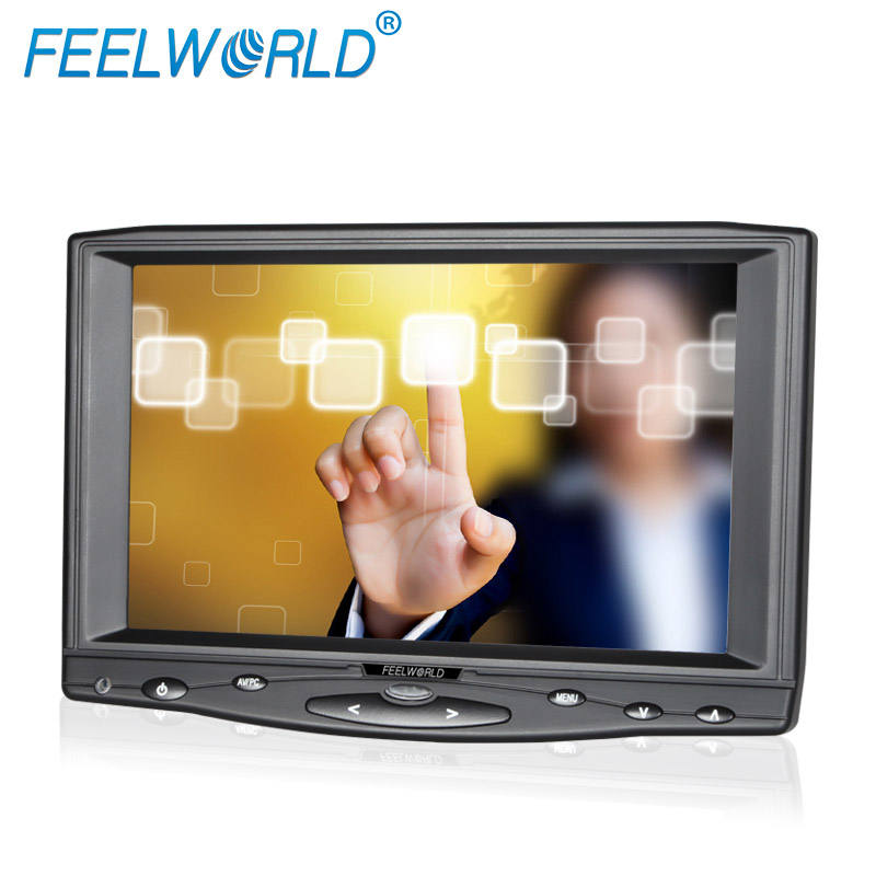 Small Monitor HDMI Input Small 7 Inch Lcd Screen Touch Display Digital Vga Input Cctv Monitor