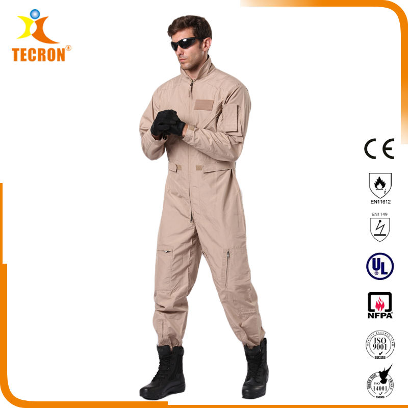 OEM Men Women Aramid Nomex F5115 CWU 27-P Military Air Force Tactical Jump Pilot Flight Suit