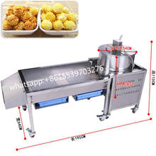 China stainless steel commercial caramel kettle corn popcorn machine for sale USA