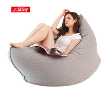 Wholesale adult xxxl large home puff lazy boy printed giant outdoor soft sofa chair lounger bean bag chair