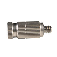Garden outdoor brass spray water nozzle fog misting nozzle for cooling system