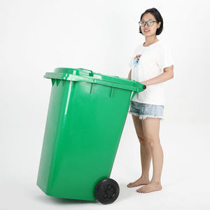 Different Types of Plastic 240 liter wheelie Rubbish Bin/