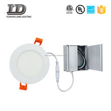 Energy Star Round LED panel lighting High Lumen ETL with junction box for north america