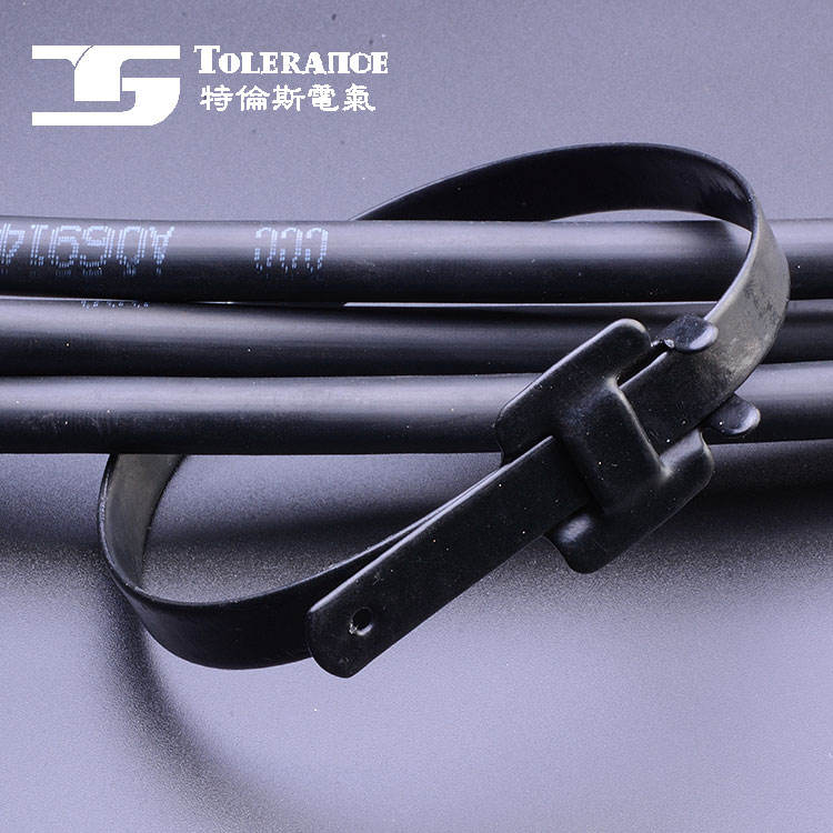Factory directly provide high quality ss 316 full coated stainless steel cable ties