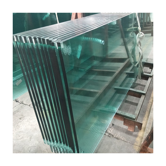 China toughened tempered building ESG glass factory prices clear 10mm 12mm custom size building glass