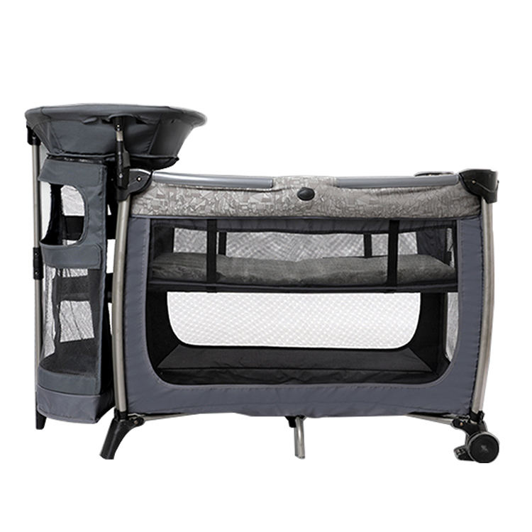Purorigin Made In China Zomer Baby Reizen <span class=keywords><strong>Metalen</strong></span> Nieuwe Babybedje 3 In 1 Baby Nest Bed