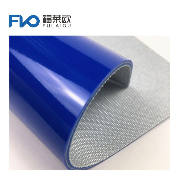 Food Industry Grade FDA Logistics PU Conveyor Belt with Different Patterns