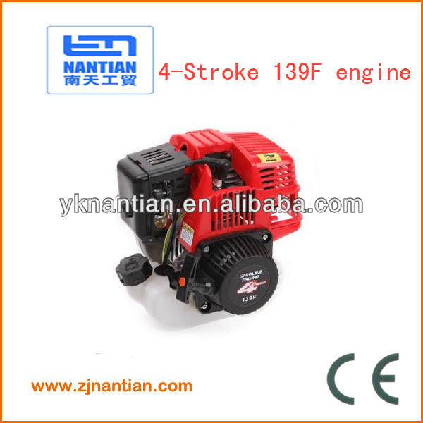 4 Stroke brush cutter engine 31cc 139F brush cutter spare parts
