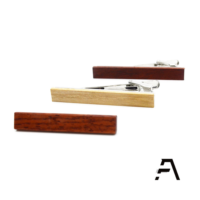Wholesale custom wood tie clips