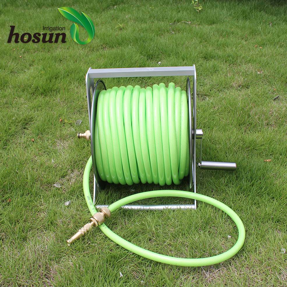 china shopping online best garden agricultural irrigation water stainless steel air compressor hose reel