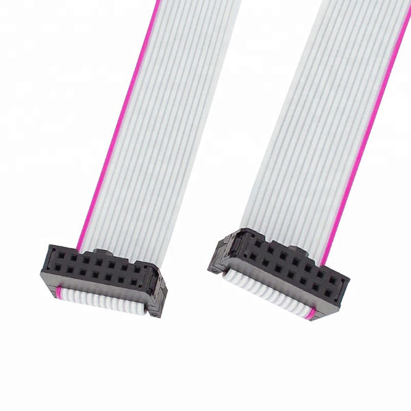 2.54mm Pitch 2x14 P 14 핀 14 선 Female to Female IDC 평 Ribbon Cable