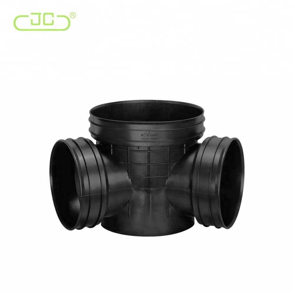 DN200mm-1000mm Underground Black Draniage Inspection Well