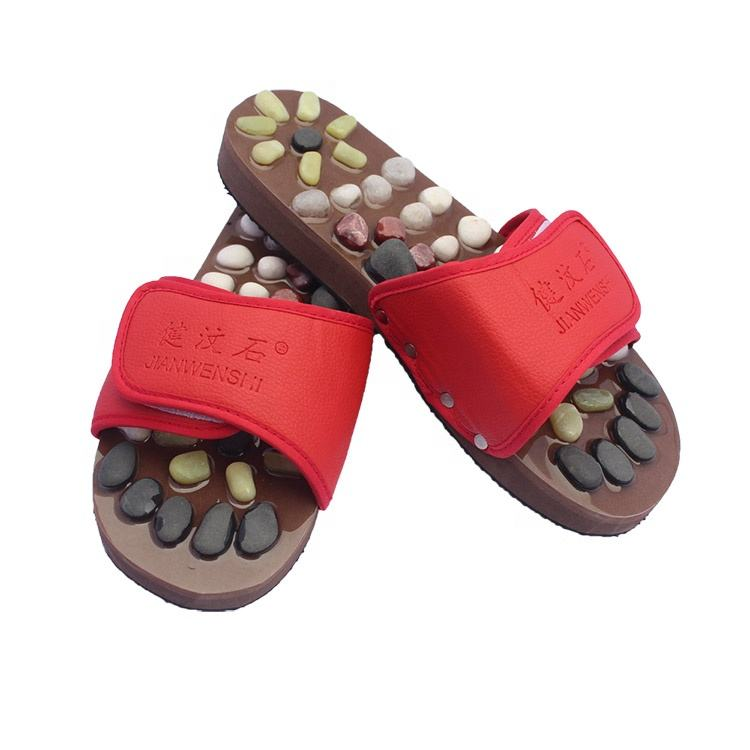 Guangdong China women improve blood circulation foot massage slippers shoes