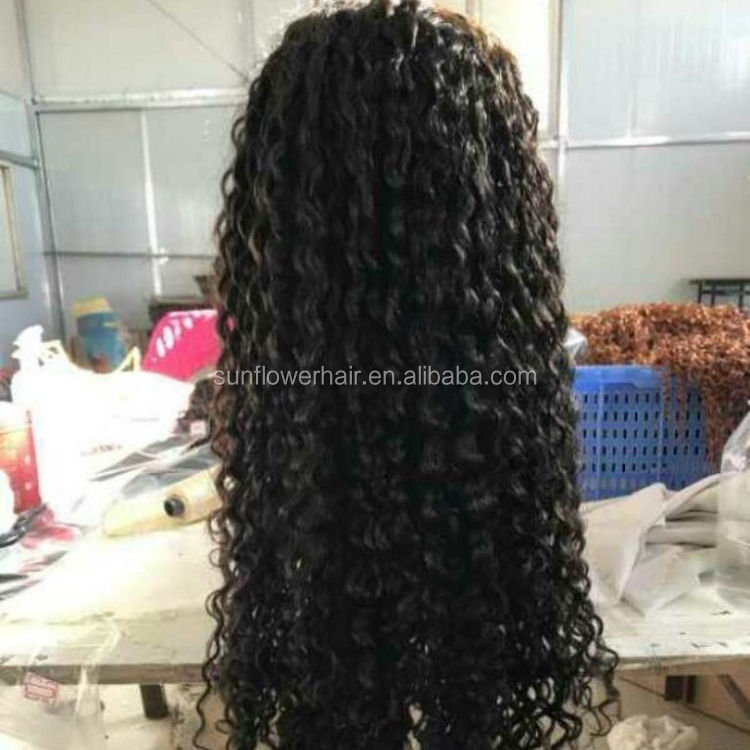 peruvian virgin hair lace front wig sillk top