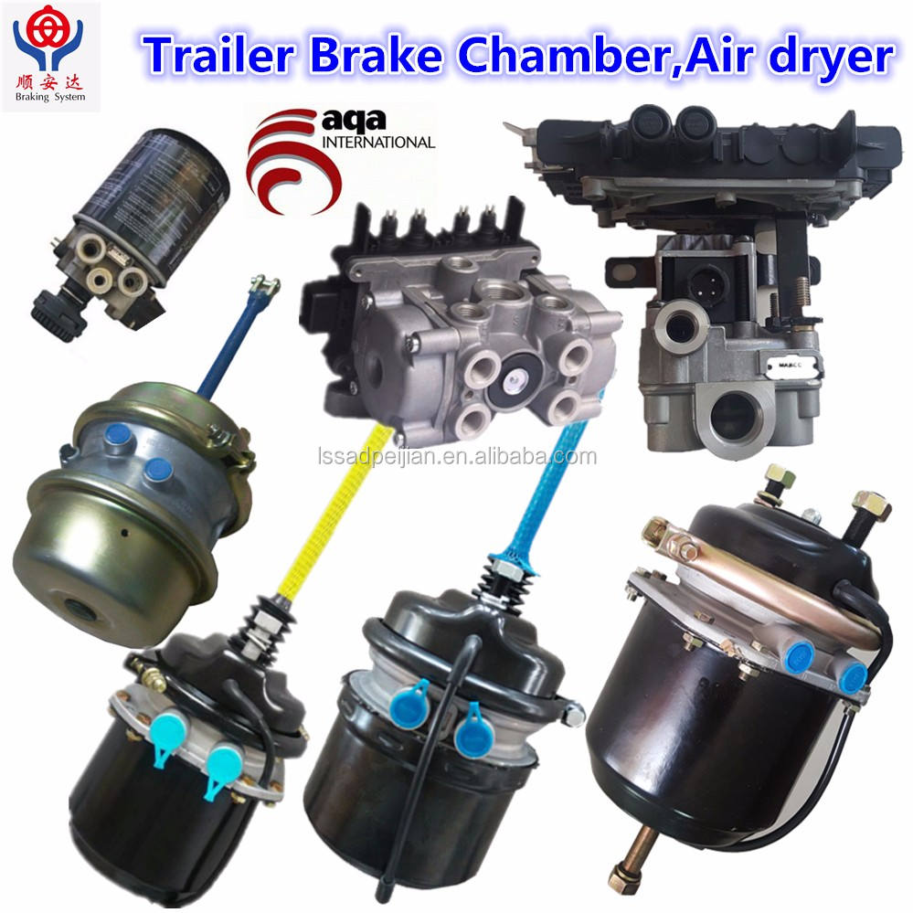 T3030DD brake chambers for man/daf/volvo/iveco air spring brake chamber for truck,trailer and bus(T9,T12,T16,T20,T24,T30)