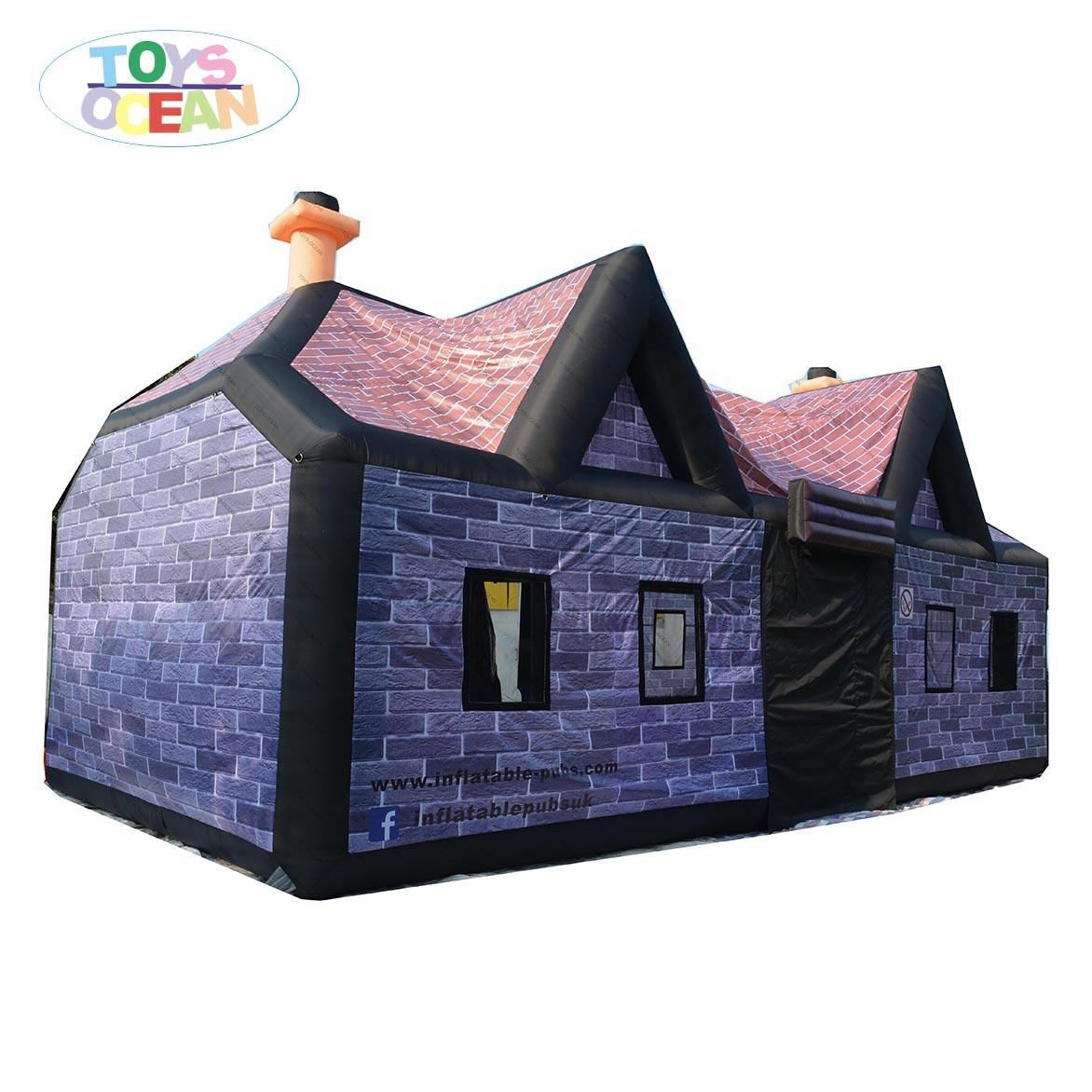 New Popular Party Decoration Movable Inflatable Bar Tent Pub House