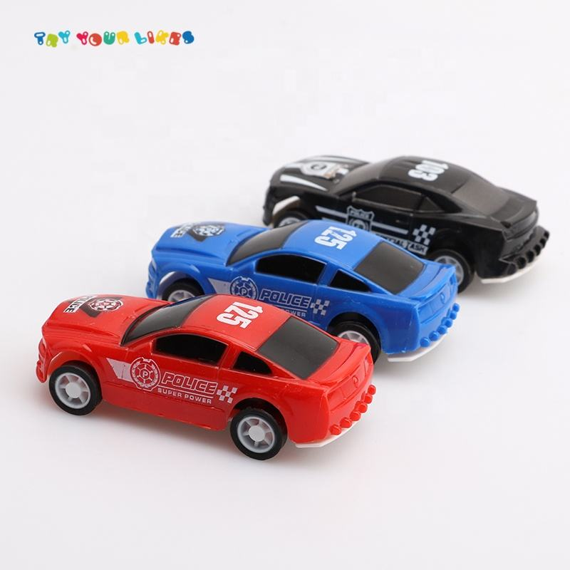 Wholesale Popular Cheap Plastic Pull Back Promotional Toy Cars