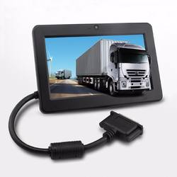 "7"" electronic truck logging device, ELD with Android OS"