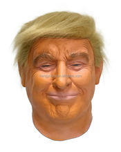 Realistic Celebrity Mask Popular Face Rubber Donald Trump Mask
