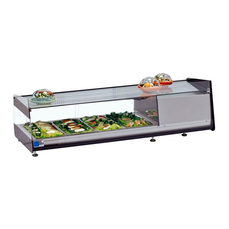 Top Selling Sushi Display Refrigerator Cooler Freezer