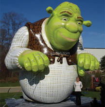 New design!! custom giant inflatable devil cartoon character /advertising inflatable monster shrek for outdoor display