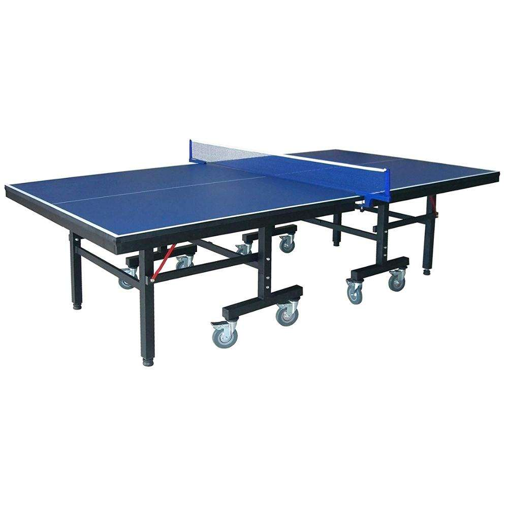 Indoor Table Tennis Table with Locking Wheels