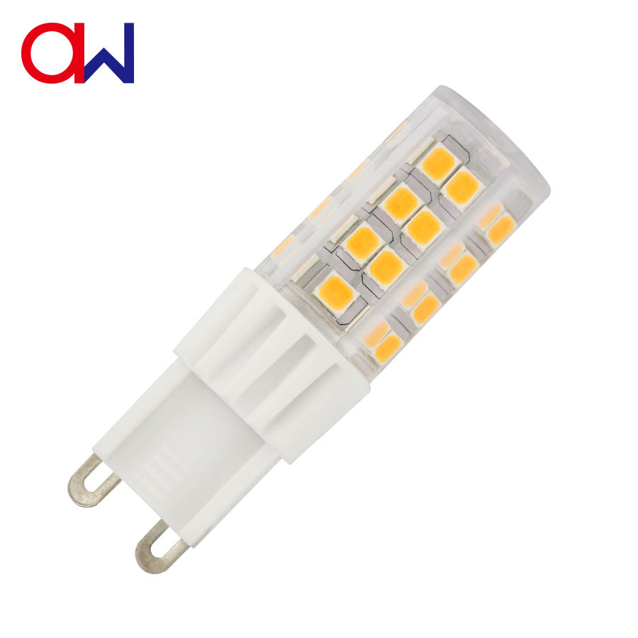 LED Indoor Lighting Ceramics light 3000K AC230V Lamp 5W 400LM LED G9 With ETL RoHS