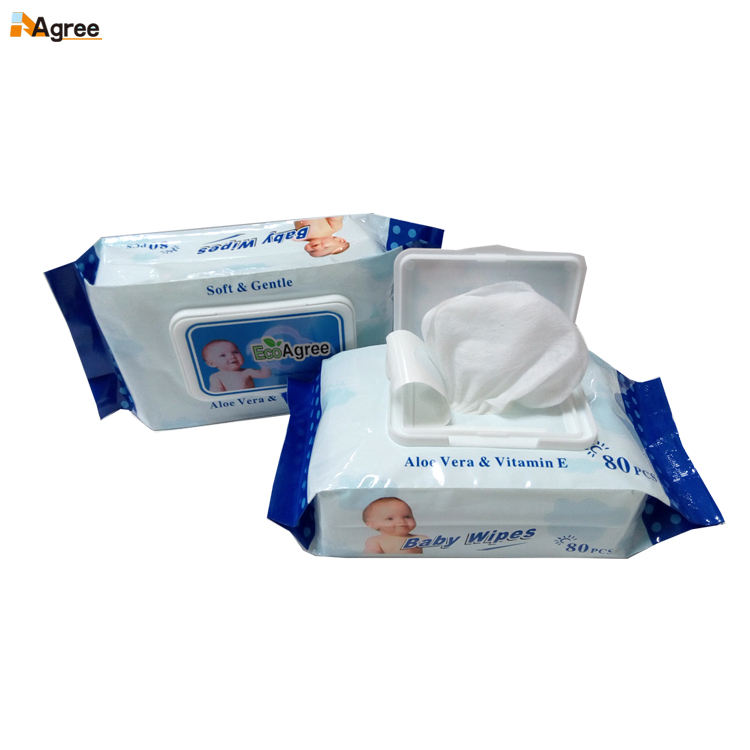 Private Label Disposable Wet Wipes Toallas Humeda Pare Bebe