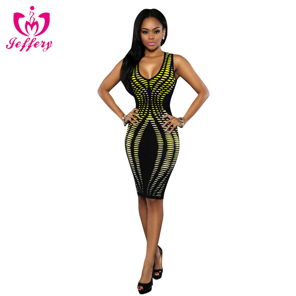 2017 explosion models sexy women's new printed dress C009