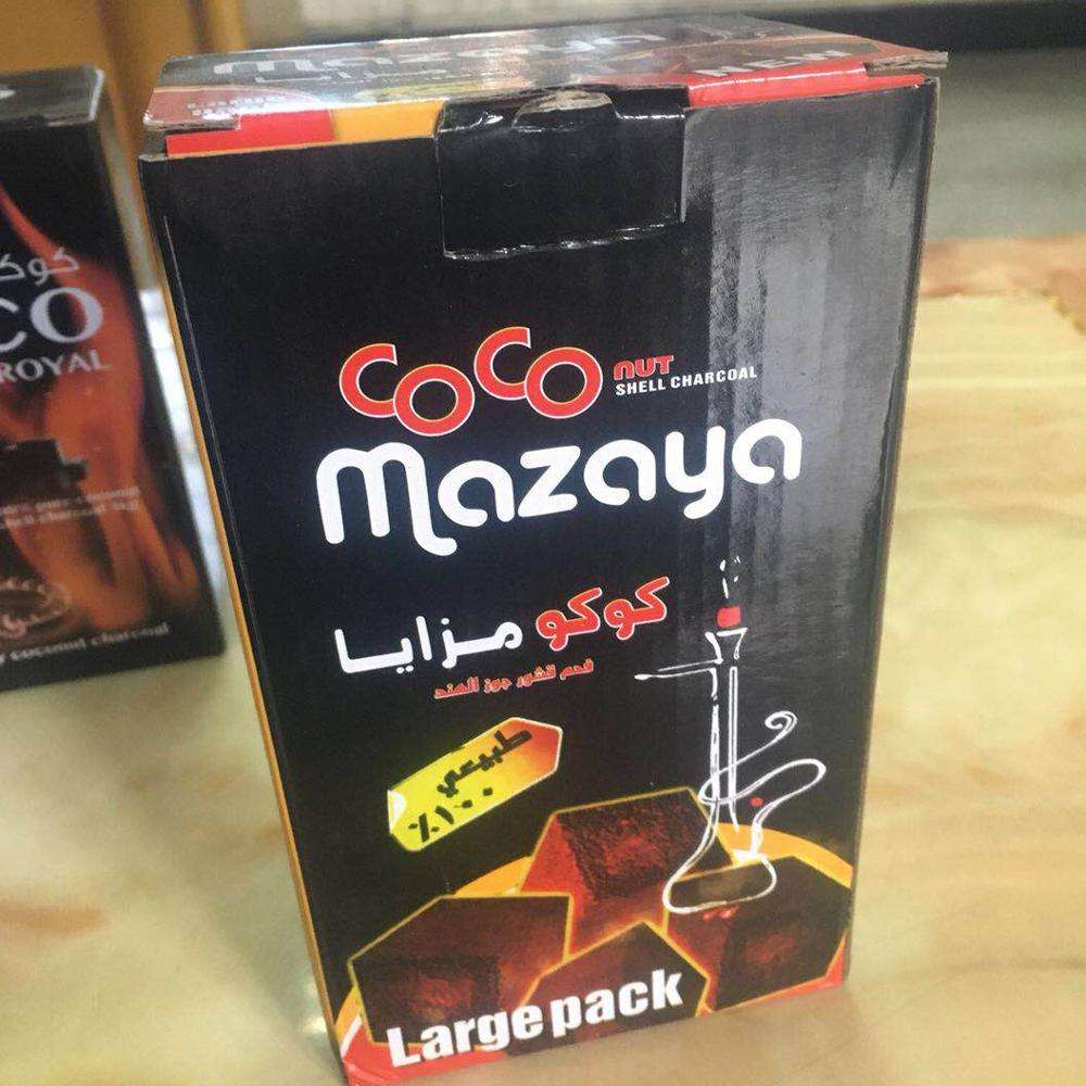 factory direct best quality coconut shisha Charcoal activated charcoal 100% coconut shell charcoal cubes