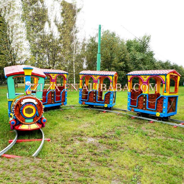 Bán hot thú vị kinh nghiệm trẻ em ngoài trời công viên giải trí theo dõi tàu/tàu điện với các bài hát để bán