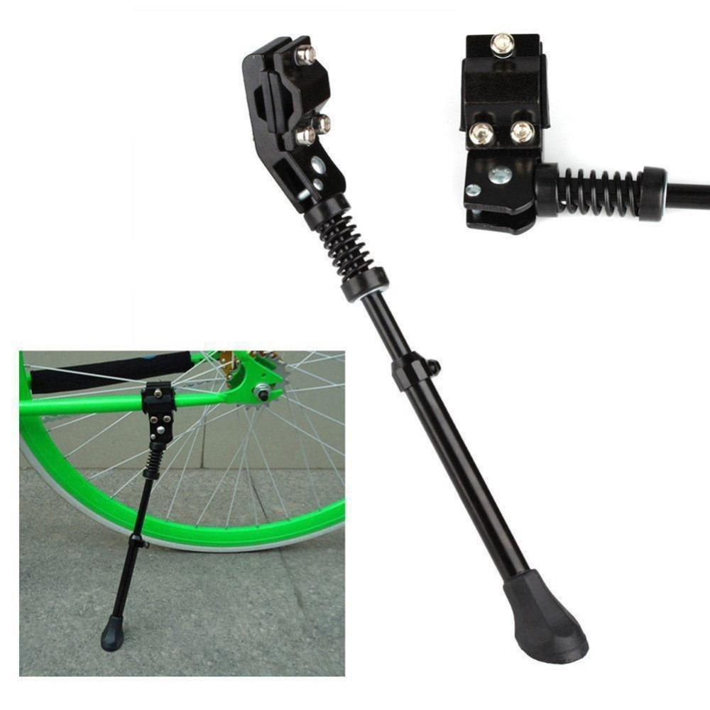 "MTB Bike Bicycle Adjustable Side Kickstand For 12"" 14 "" 16"" 20"" 24"" 26"" 28"" Kick Stand"