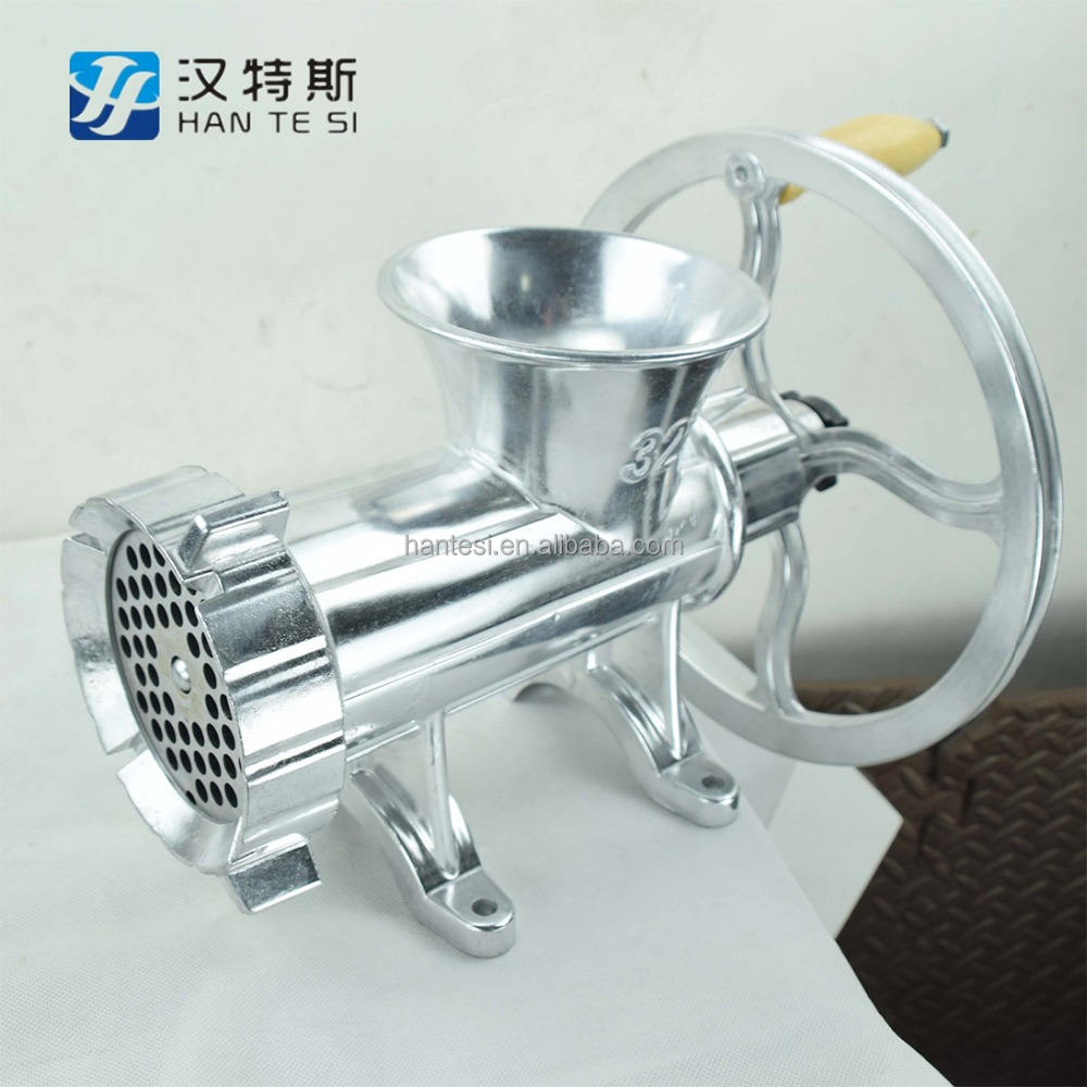 Factory Price Aluminum Manual Meat Grinder