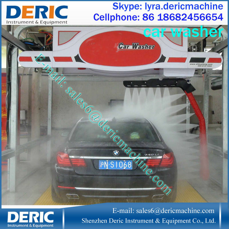 High Quality Touchless Car Wash Machine With PLC