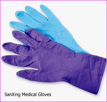 sterile nitrile examination gloves disposable powder free cleanroom manufacturer