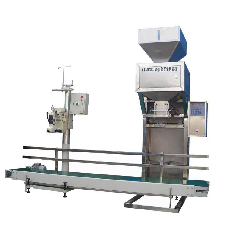 Low Price Semi Automatic 5kg 10kg 20kg 50kg Bag Rice Packing Machine