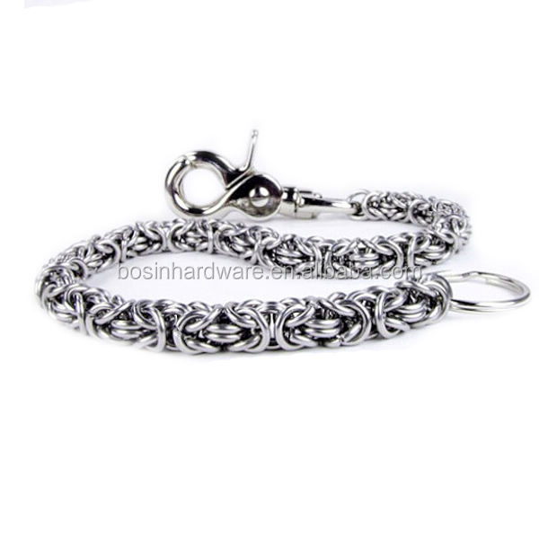 Fashion High Quality Metal Stainless Steel Wallet Chain