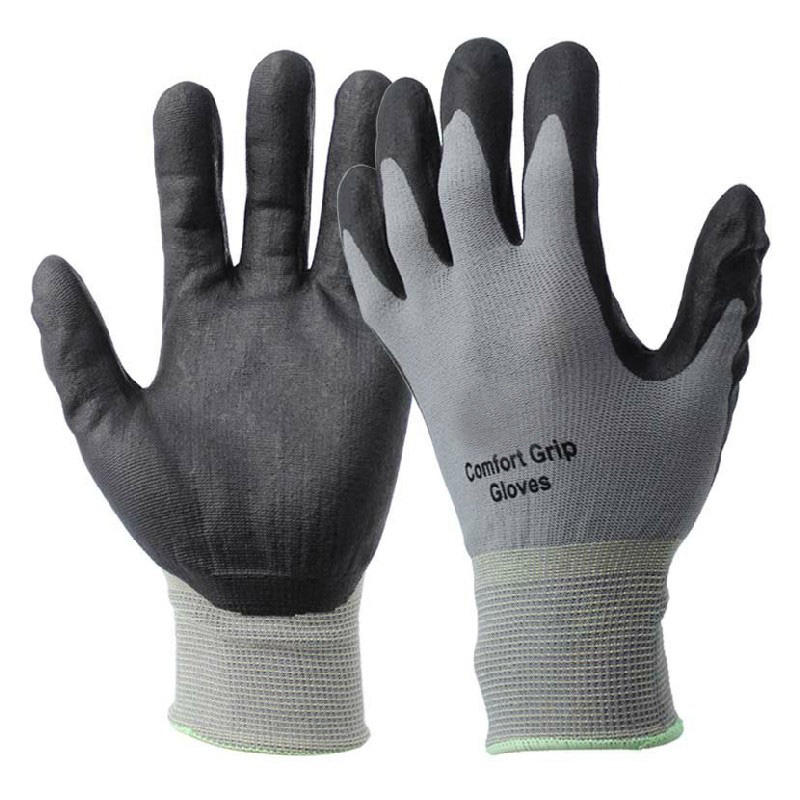 Nitrile Foam Coated Work Various Purposes Comfort Grip Glove