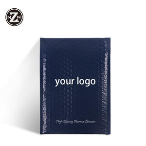 biodegradable large poly matte mail bubble envelope mailer padded shipping packing bags with custom printed logo designs