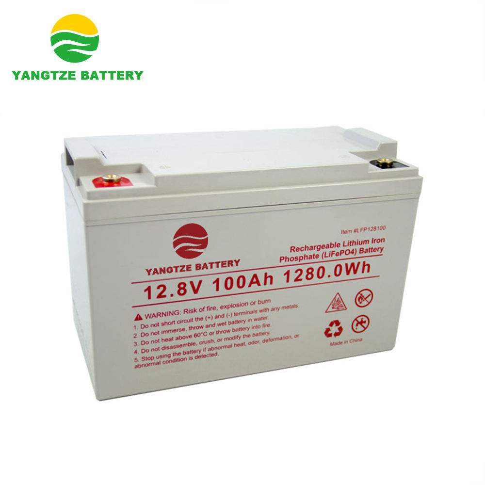 1280wh capacity solar lithium iron phosphate battery 12v 100ah for solar power system energy storage