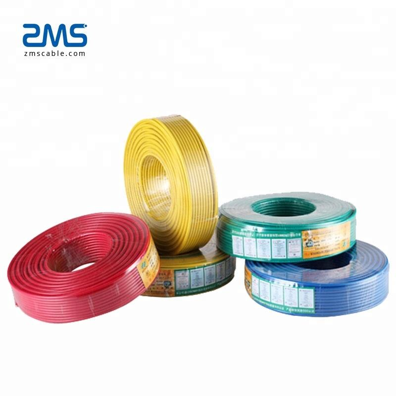 1mm 2.5mm 4mm 6mm 10mm Copper Cable Wire Price Per Meter