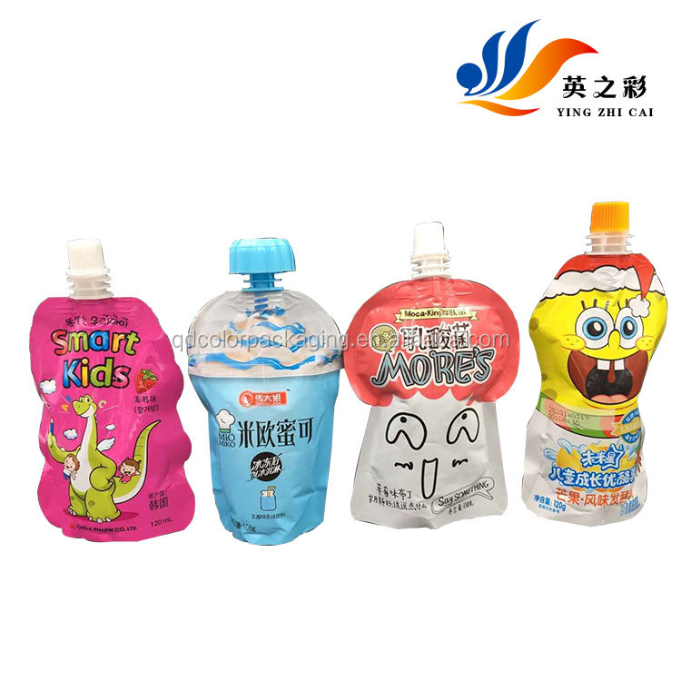 Special shape pickles vegetables food bags, three side bag, decorative food bag