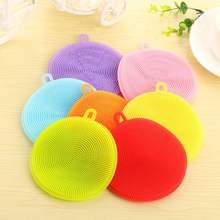 Silicone Brush Magic Dish Bowl Pot Pan Wash Cleaning Brushes Cooking Tool