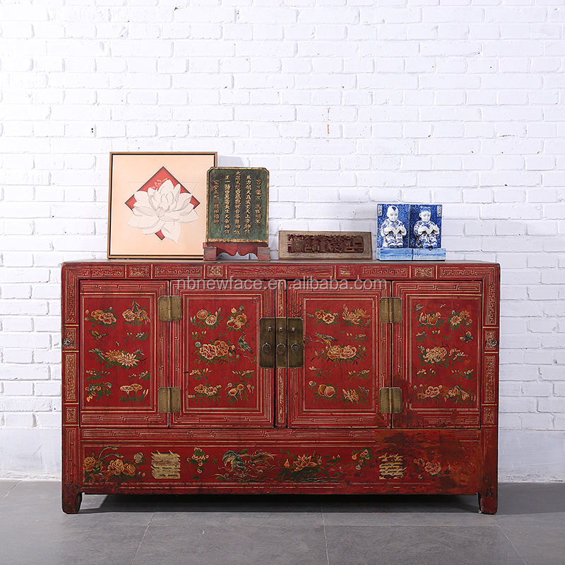 Hand painted traditional chinese furniture