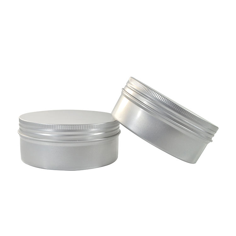 High quality empty 15g 20g 30g 40g 50g 60g 80g 100g 150g 200g 250g 350g cream aluminum jar for cosmetic package