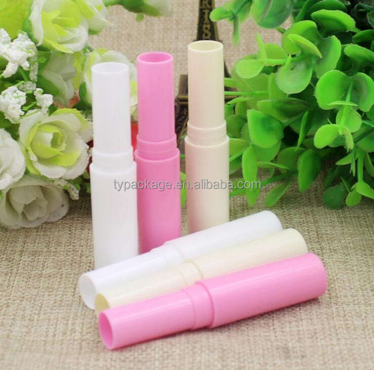 high quality plastic lip gloss tube package cosmetic empty lipstick tube container wiht applicator cap