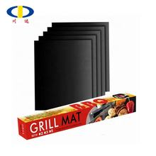Heavy Coated 0.20mm 0.30mm Reusable Crispy Mesh PTFE Oven Liner Sheet BBQ Baking Mats