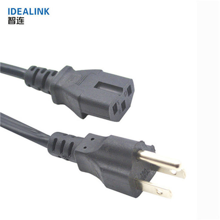 Oem Welcome Usa Computer Power Supply Ac Extension Cord/Power Lead Cable