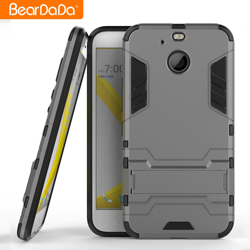 Unique Design tpu pc kickstand phone case cover for htc 10 evo back cover
