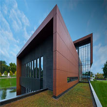 4mm exterior wood aluminum composite materials cladding